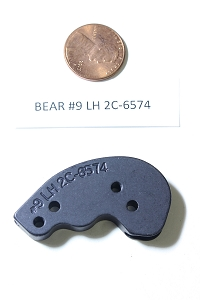 Bear Compound Bow Draw Length Module, Single Cam, #9 Left Hand 2C-6574, HARD TO FIND OEM ARCHERY PART!