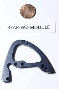 Bear Compound Bow Draw Length Module, Single Cam #W2, HARD TO FIND OEM ARCHERY PART!