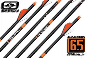 Easton Acu-Carbon 6.5 Bowhunter, Finished Arrows,  BEST FOR THE MONEY!!