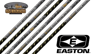 Easton Full Metal Jacket 5MM, Legend Series, Finished Arrows