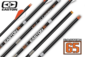 Easton ACU-CARBON 6.5, Match Grade, Premium Custom Carbon,  Finished Arrows