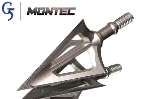 G5 montec 100 Grain, Stainless Steel Broadhead!