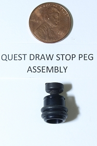 Quest Draw Stop Peg Assembly for Cam, Original OEM Replacement Part