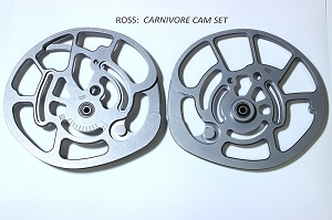 Factory Replacement Ross Carnivore #RCP 2-Piece Cam Set (T+B)