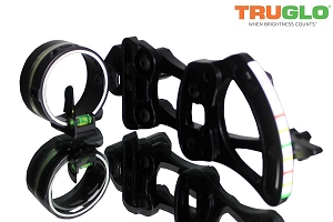 TruGlo Archer's Choice Range Rover 1 PIN Sight, .019 PIN - ENDORSED AND USED BY RALPH & VICKI CIANCIARULO