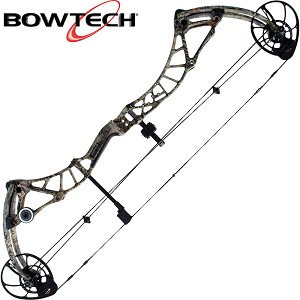 2018 Bowtech Realm X, Bow Only, LH 60-70#, Mossy Oak Country
