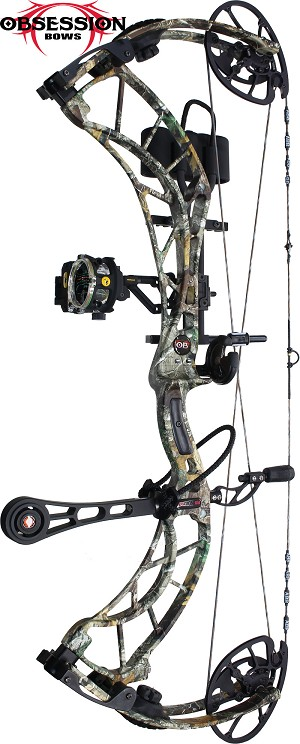 FIRE SALE, SPECIAL!  354 FPS! Obsession Fixation 6M, THE BIG PACKAGE, Full Pro-Shop Prepped Bowhunting Package Deal