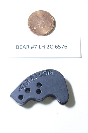 Bear Compound Bow Draw Length Module, Single Cam, #7 Left Hand 2C-6576, HARD TO FIND OEM ARCHERY PART!