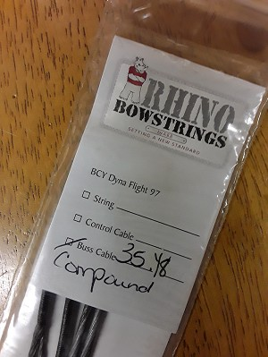 "America's Best Bowstrings: 35.125"" Buss Cable for Compound Bow"