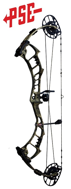 2020 PSE Bow Madness Unleashed , Bow Only, RH 47-70#, Mossy Oak Country Camo