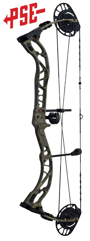2020 PSE Brute NXT , Bow Only, RH 45-70#, Mossy Oak Country Camo