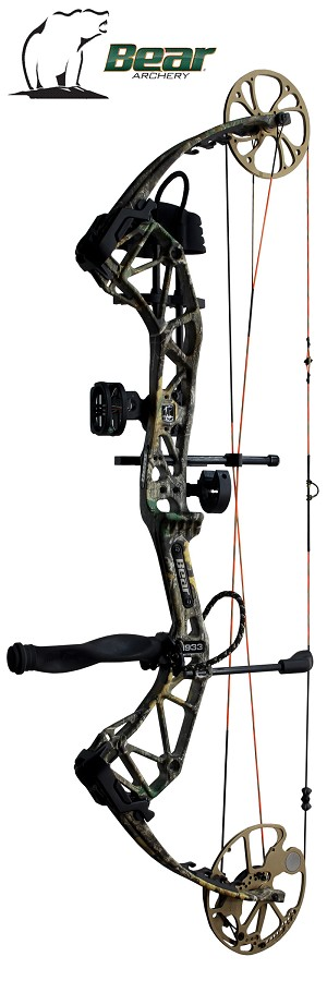 NEW! 330 FPS! 2020 Bear Paradox, THE BIG PACKAGE, Full Pro-Shop Prepped Bowhunting Package Deal