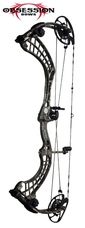 2020 Obsession Evolution 6 , Bow Only, RH 60-70#, Real Tree TIMBER