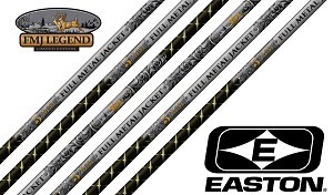 Easton Full Metal Jacket 5MM, Legend Series, Raw Shafts