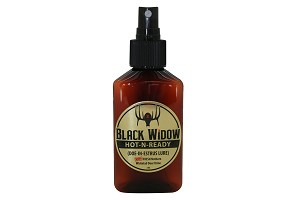 Black Widow Deer Lures, HOT N READY (DOE-IN-ESTRUS LURE) 3 OZ Bottle
