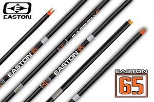 Easton ACU-CARBON 6.5 Match Grade, Premium,  Raw Shafts